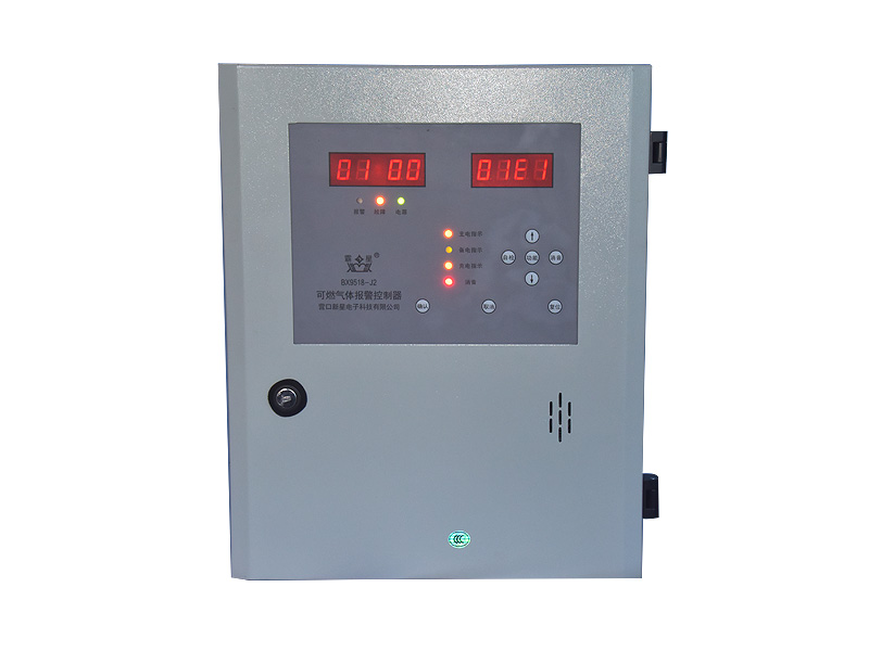 BX9518-J2-Industrial fuel and toxic gas alarm controllers